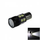 1156 / BA15S 10W 700lm 12 x SMD 5050 LED + 1-Cree LED White Car Steering Light / Tail Light (12V)