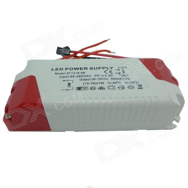 TL13D18X1W 18W LED Driver - White + Red (85~265V)