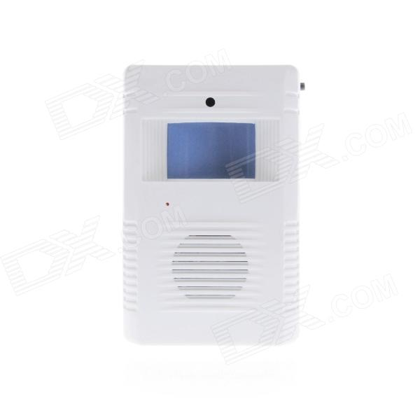 The Intelligent And Greeting Warning Doorbell - White (3 x AA)