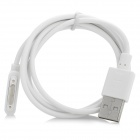 Magnetic USB2.0 Charging Cable for Sony Xperia Z1 L39H - White (1m)