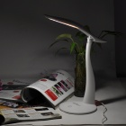 3W 130lm 6500K Li-ion White Light USB Table Lamp - White (5V)