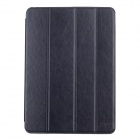 SHS Stylish Ultra Thin Protective PU Leather Case Cover Stand w/ Auto Sleep for Ipad AIR - Black