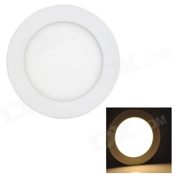 купить LSON G-009 Round 9W 450lm 3000K 45-2835 SMD LED Warm White Panel Lamp - White (AC 85~265V) недорого