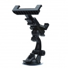 Universal Suction Cup Holder Mount Bracket for iPad / Cell Phone / Tablet PC - Black