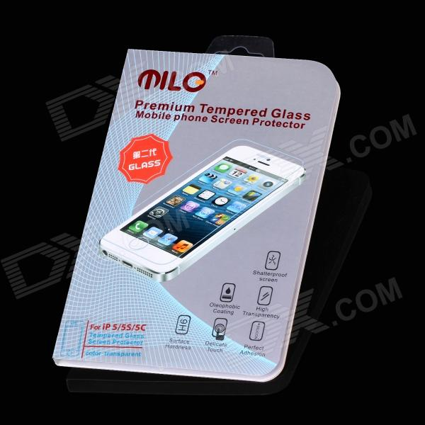 MILO Second Generation High Quality Premium Tempered Glass Screen Protector for Iphone 5 / 5c / 5s asus m4a78 vm desktop motherboard 780g socket am2 ddr2 sata2 usb2 0 uatx second hand high quality