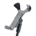 Universal 360 Degree Rotation Car Charger + Flexible Neck Holder Bracket for Iphone + More - Black