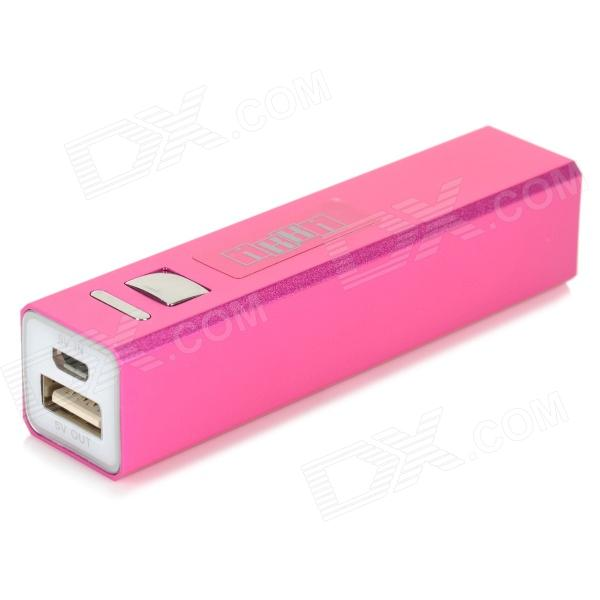 "IKKI ""3300mAh"" External Battery Power Charger for Samsung S3 Mini i8190 / Xcover 2 - Deep Pink"