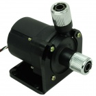 WT-030 SC600B Type Cooling Single Water Pump w/ Speed Test Line and Base - Black + Silver (12V)