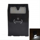 10000mAh Rechargeable External Battery Power Source Bank w/ LED / MP3 Player / Download - Black