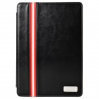 MOMAX Protective PU Leather Case Stand Cover w/ Card Slot / Wallet Bag for Ipad AIR - Black