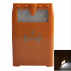 10000mAh Rechargeable External Battery Power Source Bank w/ LED / MP3 Player / Download - Orange