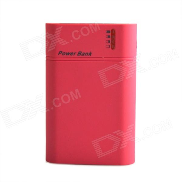 все цены на HH-141 Portable 8400mAh External Battery Charger Power Source w/ LED Indicator for Iphone -Deep Pink