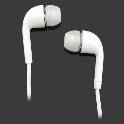 S-What In-Ear Earphone w/ Mic. for Samsung Galaxy S4 i9500 - White