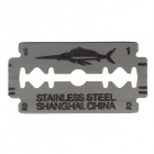 Jianyu Stainless Steel Dual Sides Blades - Silver (5 x 20PCS)