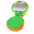 Trinkets Simulation Hamburg Mirror - Green + Orange