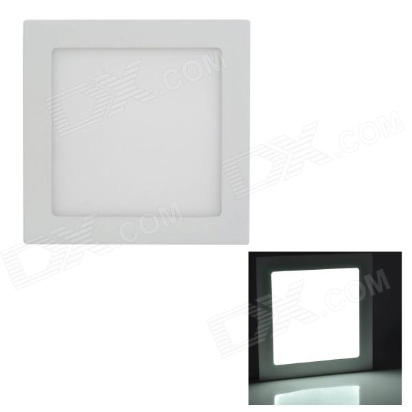 LSON 15W 750lm 6000K 75-2835 SMD LED White Panel Lamp - White (AC 85~265V)