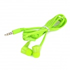 MIC-102 3.5mm In-Ear Earphone w/ Microphone - Green
