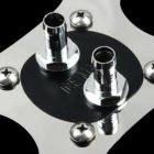 WT-017 Black High Position 3MM Copper Base High Temperature Resistant CPU Cold Head - Silver