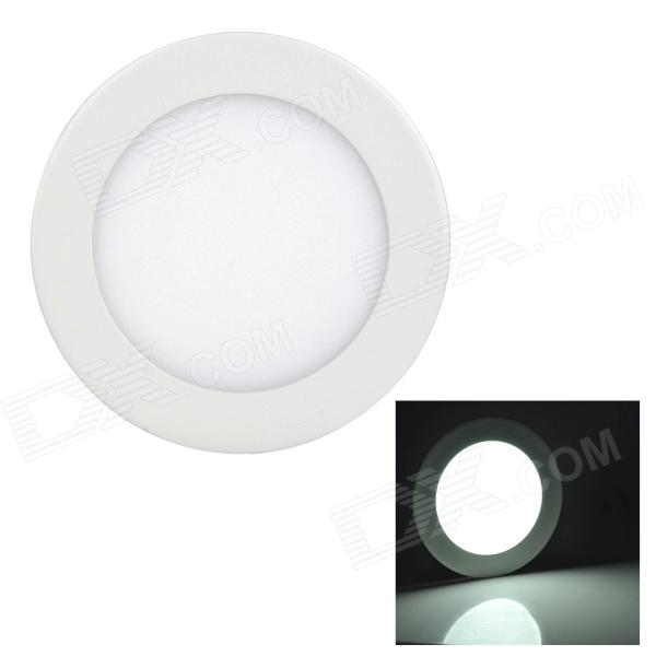 LSON redondo 9W 450lm 6000K 45-2835 SMD LED blanco Panel lámpara - blanco (AC 85 ~ 265V)