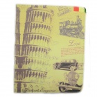 Leaning Tower of Pisa Pattern 360 Degree Rotation PU Leather Case for Samsung P600 / P601
