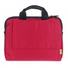 "Tee 13.3"" Shock-Proof Water Resistant One-shoulder Sleeves Bag w/ Handle for Notebook - Red"