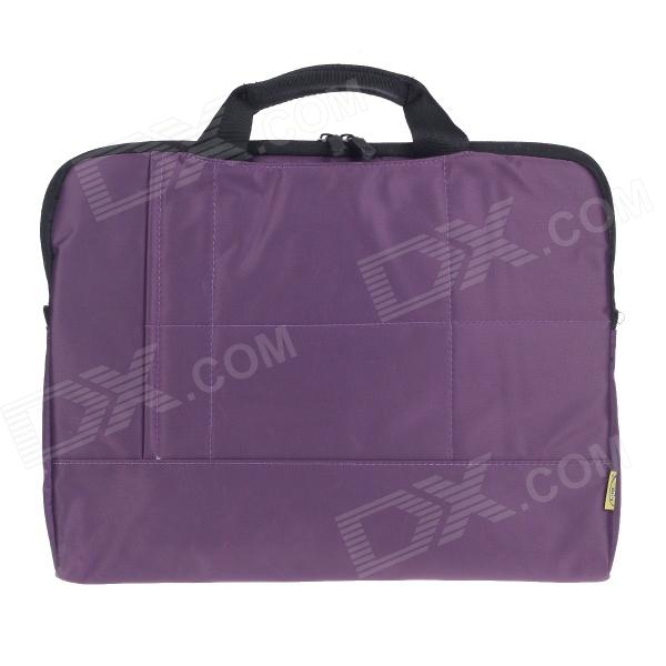 Tee 14 Shock-Proof Water Resistant One-shoulder Sleeves Bag w/ Handle for Notebook - Purple casio baby g blx 100 7e