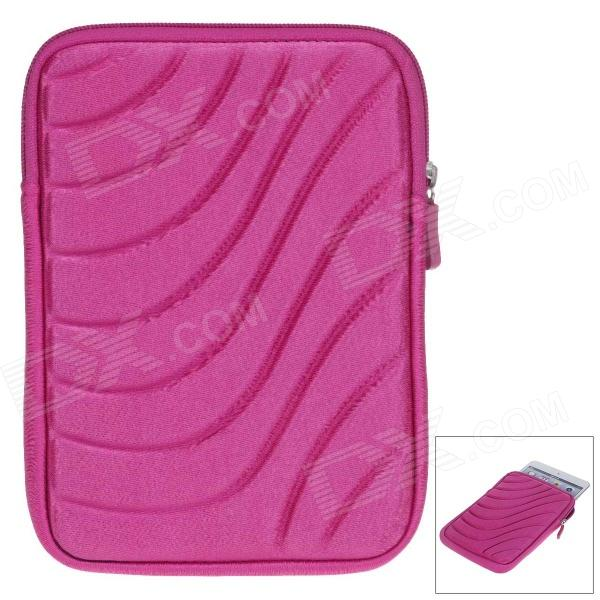 Protective Shock-Proof Water Resistant Nylon Case for 7 Inch Tablet PC - Deep Pink