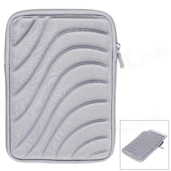 Protective Shock-Proof Water Resistant Nylon Case for 7 Inch Tablet PC - Grey