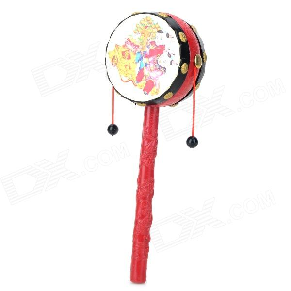 T29BLG Baby's Rattle-drum Toy - Red