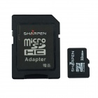 SHARPEN SMHV10-32G MicroSD / TF Flash Memory Card -Black (Class 10 / 32GB)