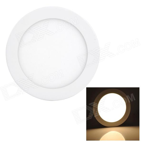 купить LSON G-012 12W 600lm 3000K 60-2835 SMD LED Warm White Panel Lamp - White (AC 85~265V) недорого