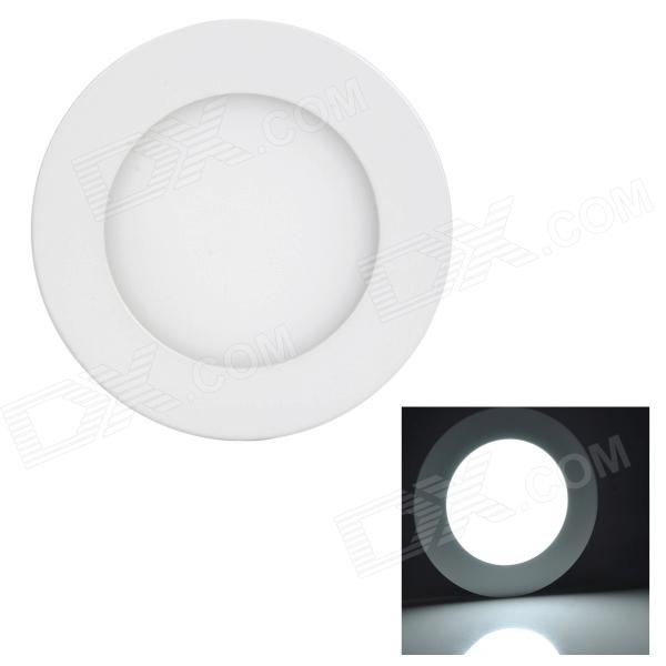 купить LSON G-006 Round 6W 300lm 6000K 30-2835 SMD LED White Panel Lamp - White (AC 85~265V) недорого