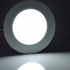 LSON Round 6W 300lm 6000K 30-2835 SMD LED White Panel Lamp - White (AC 85~265V)