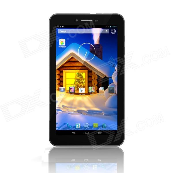 Freelander PD10-3GS Dule Core 7 Android 4.2 3G Tablet PC w/ Dual-SIM, GPS, 512MB RAM, 4GB ROM jiake f1w 5 0inch capacitive touch screen mtk6572 dual core 1 2ghz smartphone 512mb 4gb 2 0mp 0 3mp android 4 2 os 3g gps with protective case black