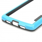 S-What Protective PC + TPU Bumper Case for LG Nexus 5 - Blue + Black