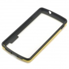 S-Qual Protective PC + TPU Bumper Case for LG Nexus 5 - Amarelo + Preto