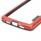 S-What Protective PC + TPU Bumper Case for LG Nexus 5 - Red + Black