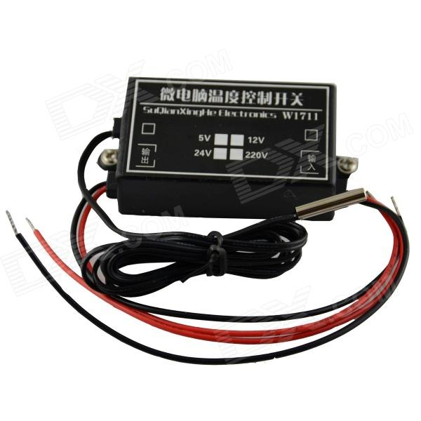 Microcomputer Temperature Control Switch - Black (12V) conservation and management of elephant corridors