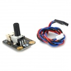 300 Degrees Simulation Rotation Angle Sensor With Data Cable for Arduino - Black