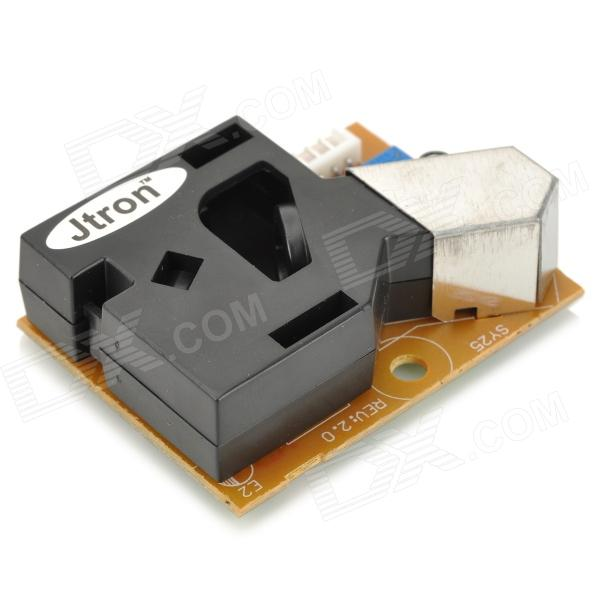 Dust Particle Concentration Detection Sensor / Air Quality Testing Module - Black + Orange