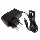 DOS-9-1 AC Power Charger Adapter - Black (AC 100~240V / DC 9V 1A / EU Plug / 5.5 x 2.1mm)