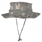 Cotton Outdoor Fishing Sunscreen Hat - ACU