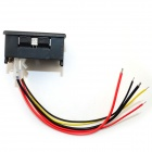 "0.28"" 4-digit DC 0-33.00V / 0-999.9mA-3A Voltage Current Meter - Red + Green"