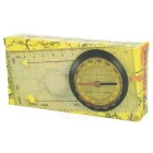 Compass with Map Measuring Ruler Lanyard