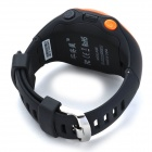 ZGPAX PG88 GSM Watch Phone w / Quad-Band, Posicionamento GPS - Preto + Orange