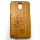 Dandelion Pattern Detachable Protective Bamboo Back Case for Samsung Galaxy Note 3 N9000