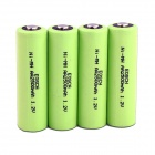 Camera Fash Special 1.2V AA 2500mAh High Capacity Ni-MH Battery (4 PCS )