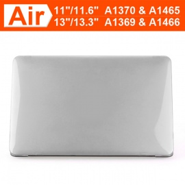 """ENKAY Crystal Hard Protective Case for MacBook Air 13.3"""" - Red"""
