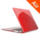 "ENKAY Funda protectora de cristal para MacBook Air 13.3 ""- Rojo"