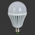 E27 11W 900lm 4200K 30-5730 SMD LED White Light Bulb - White (AC 85~265V)